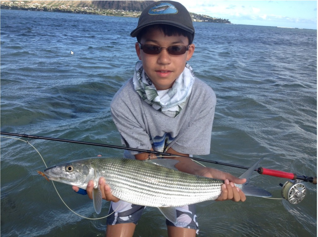 Oahu bonefish flats and everything else for Fishing in hawaii oahu