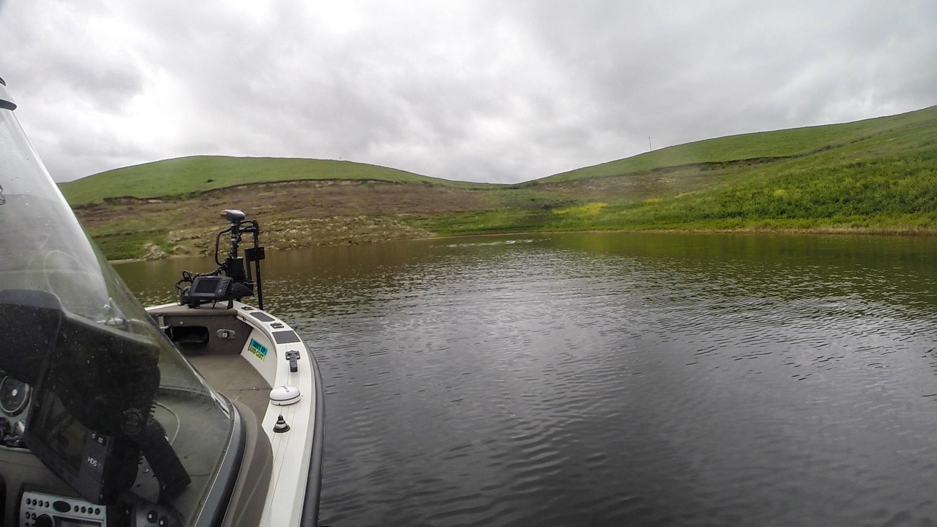 7 for San luis reservoir fishing report
